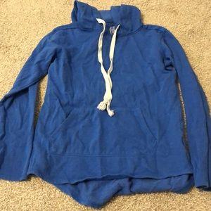 Blue sweatshirt